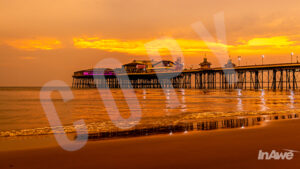 Sunset Over North Pier